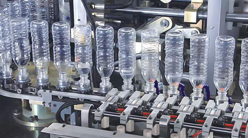 ¿Cuáles son las principales características de la máquina automática de soplado de botellas?